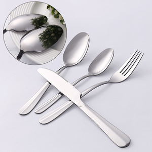 Low MOQ And Short Delivery Day Stainless Steel Inox Cutlery Sets