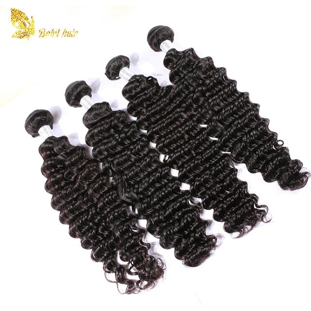 Wholesale Cheap Virgin Peruvian Remy Human Hair Weave Bundles