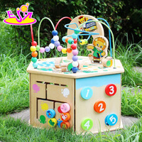 2016 new design kids wooden educational game, fashion children wooden educational game W11B081-J26