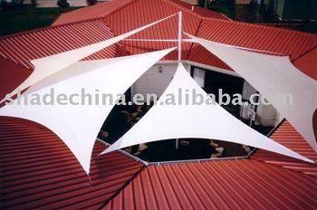 outdoor sun shade sail for gazebo