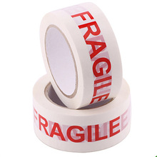 "adhesive bopp tape with ""FRAGILE"" print logo tape"