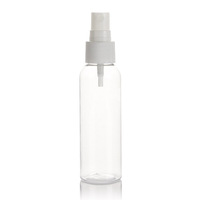 Beautiful Cosmetic Packing of PET Clear Perfume Bottle and Pump Spray Bottle Plastic
