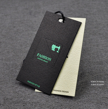 Custom design fashion cardboard laser cut paper hang tag for furniture