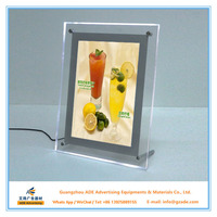 Table stand acrylic light box a4