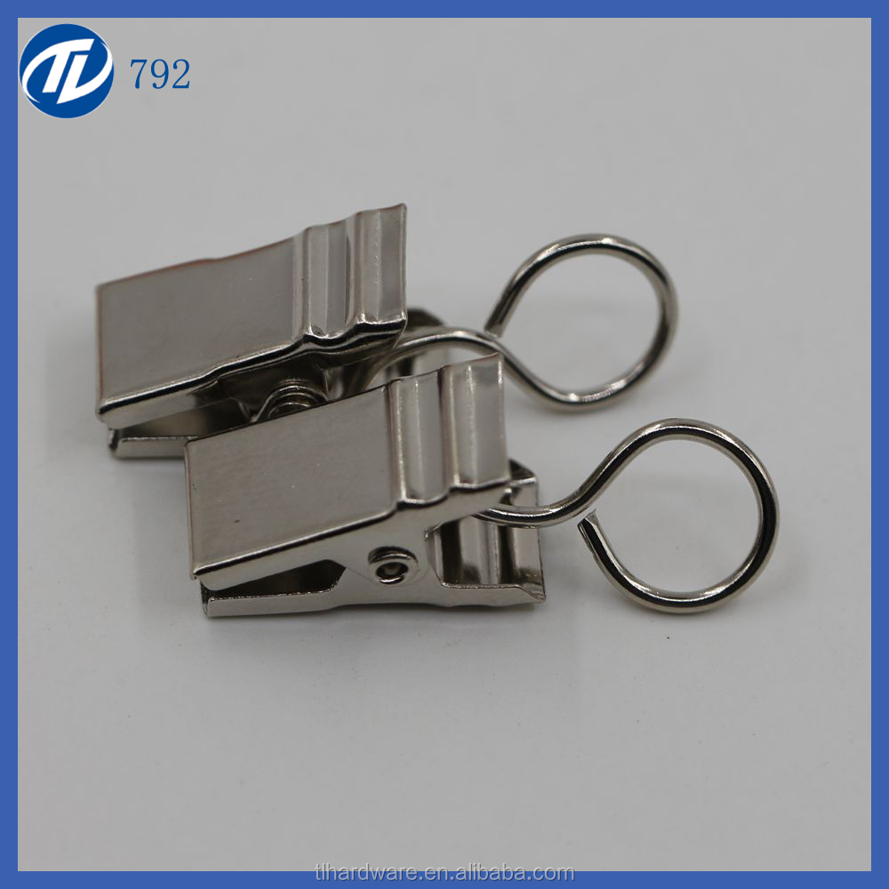 metal name id card badge holder clips