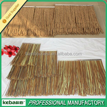 Awesome Masonry Materials Artificial Synthetic Thatch Roof/ Gazebo