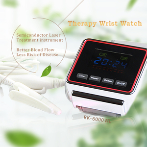 Medical Wrist Watch Low Level Laser Therapy High Blood Pressure Treatment