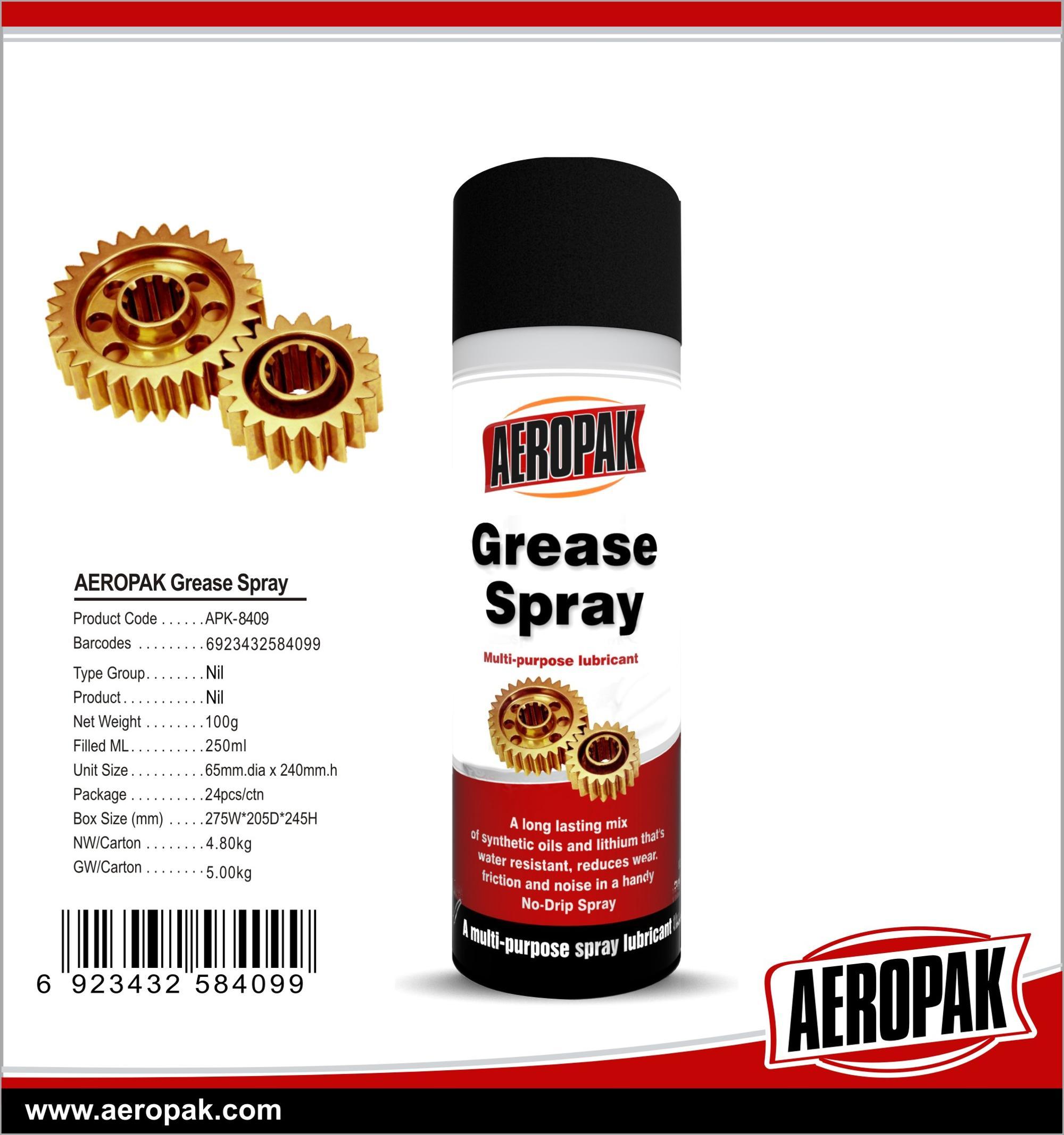 Aeropak Good Quality Grease Spray 200ml