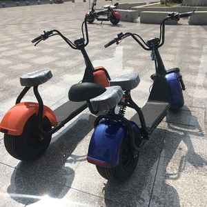 2018 new big wheel citycoco 2000w electric scooter high speed electric scooter