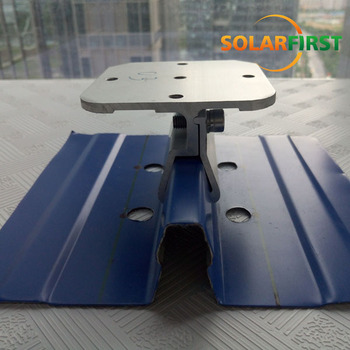 Tin Roof Clip Lock Seam Clamp For Solar Pv Roof Mounting