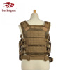Bucksgear Custom Quick Release Khaki Combat Protective Army Green Military Men Tactical Vest For Sale
