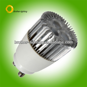 Hot Design!!! GU10 Base LED MR11 LED 3*1W Spotlight CE&RoHs Approved