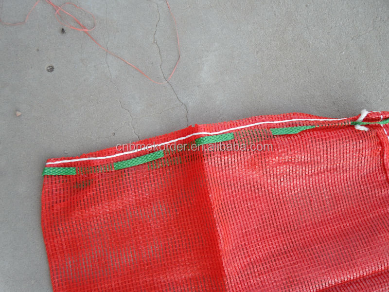 45*70cm PP leno mesh bag for onion and patato