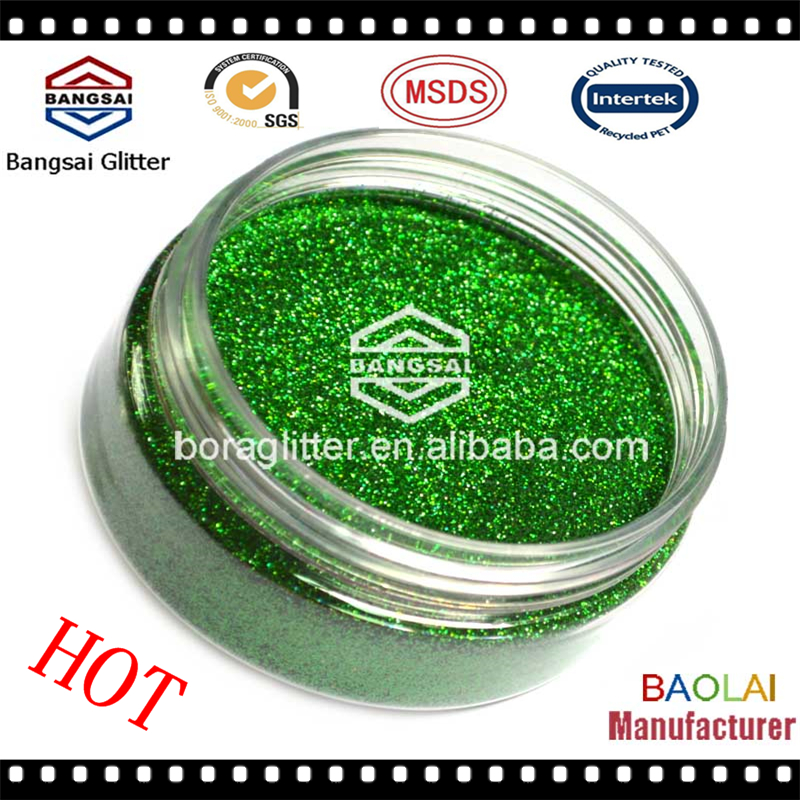 Non-toxic eco-friendly christmas mix glitter powder
