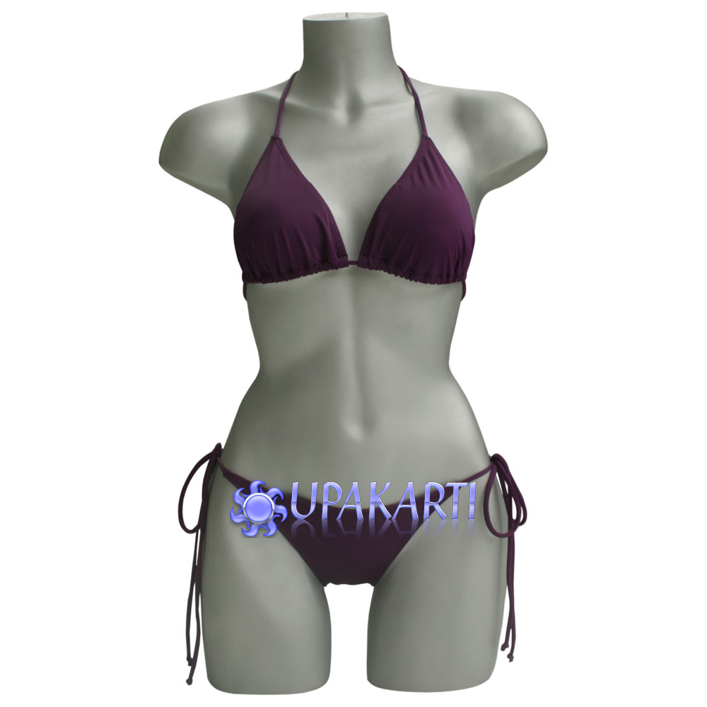 Indonesia Bikini Swimwear Manufacturers Suqma Serenity Greyish Blue Xl And Suppliers On
