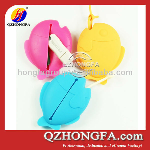 Cheap Fish Silicone Keycase (Item No.:SKC-8054)