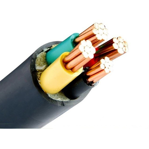 0.6/1KV SGS Professional Manufacturer Pure Copper Armoured XLPE cable 4 core 25mm 35mm Power Cable