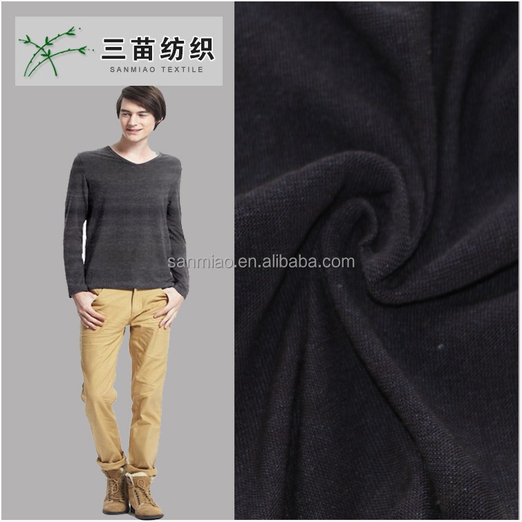 polo shirt pique terry cloth knitted denim fabric wholesale
