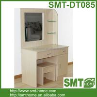 Dressing Table Vanity Makeup Dresser With Mirror Include Stool Set
