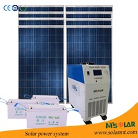 solar system 3kw ups power supply w/ MPPT BMS UPS 230v 220v 110V home power system