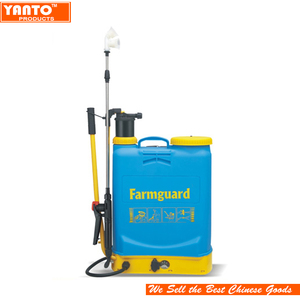16L 2in 1 battery operated backpack insecticide sprayer garden sprayers with Manual handle
