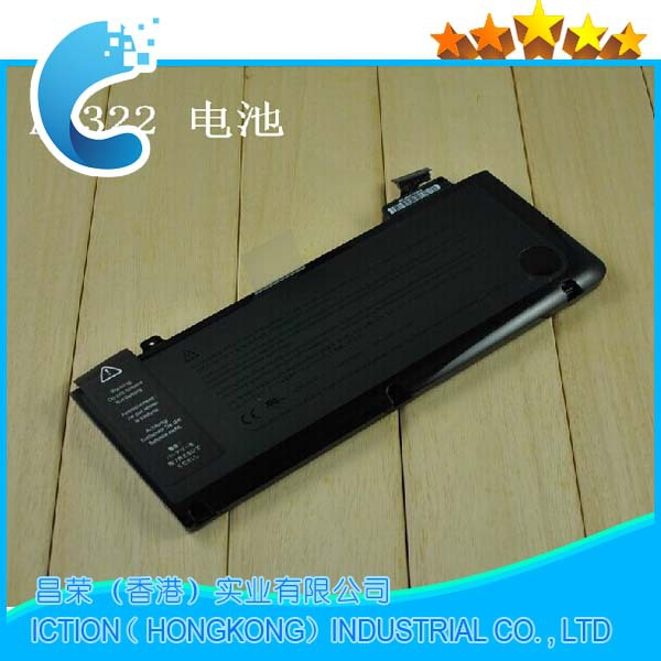 "Genuine Original laptop Battery A1322 For APPLE MacBook Pro 13 "" Unibody A1278 Mid 2009 2010 2011 Battery"