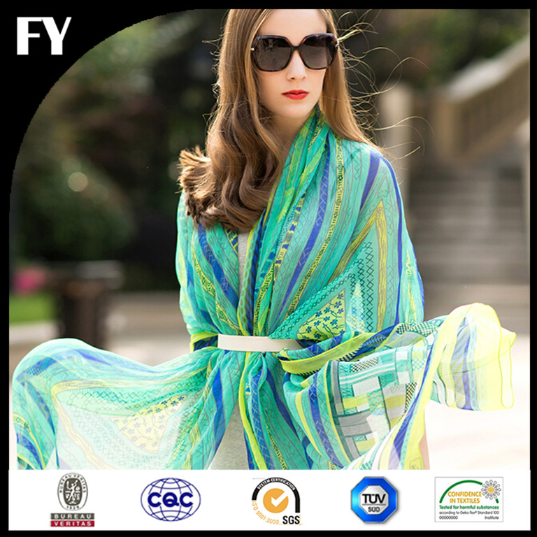 Custom digital printed fancy stoles and scarves mumbai