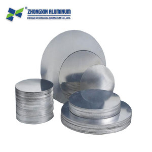 CC Material round metal Aluminum Circle / Round Disc For Traffic light reflectors