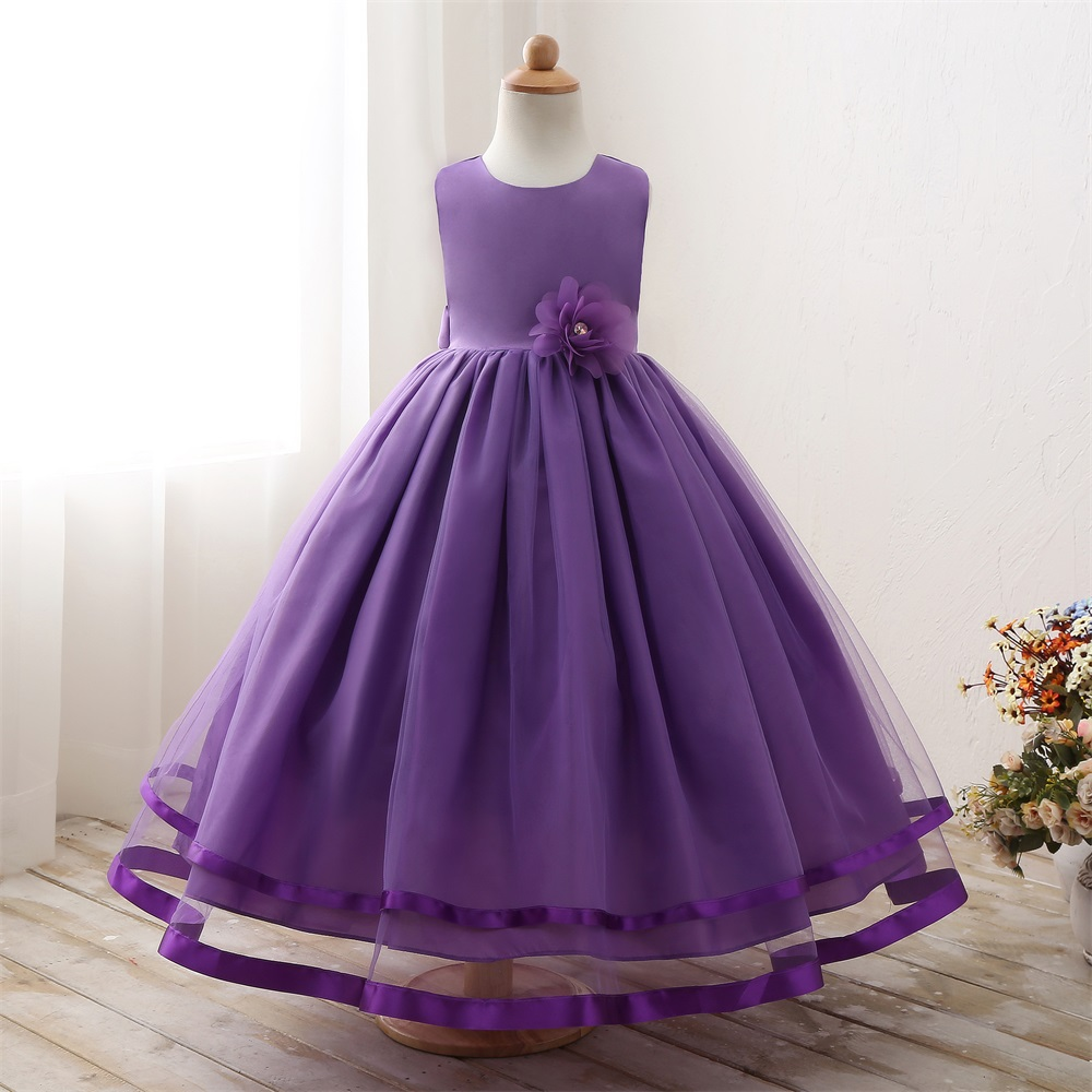 Western Latest Party Wear Bridesmaid Elegant Fashion Girl Dresses ...
