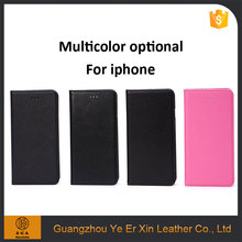 China supplier wholesale phone accessories PC leather mobile phone case for iphone 6s 7