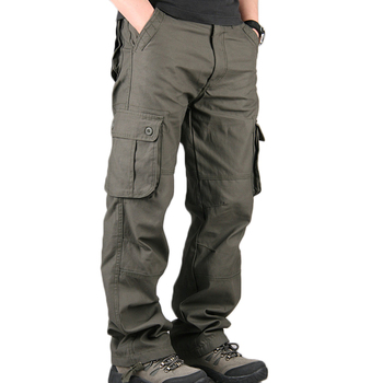 OEM China factory men multi-pockets functional Military cargo work pant