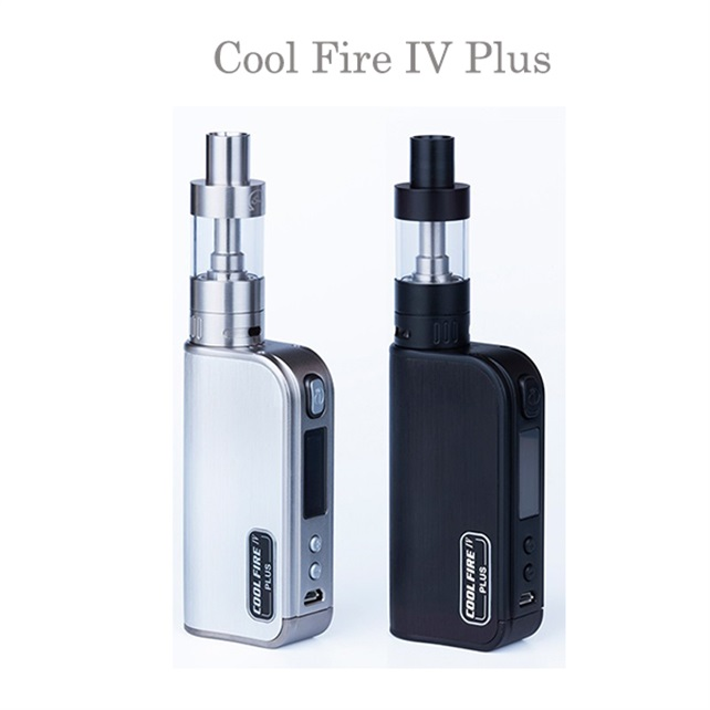 2015 new arrive e cigarette cool fire 4 plus,innokin vapor starter kit ,huge vapor e-cigarette