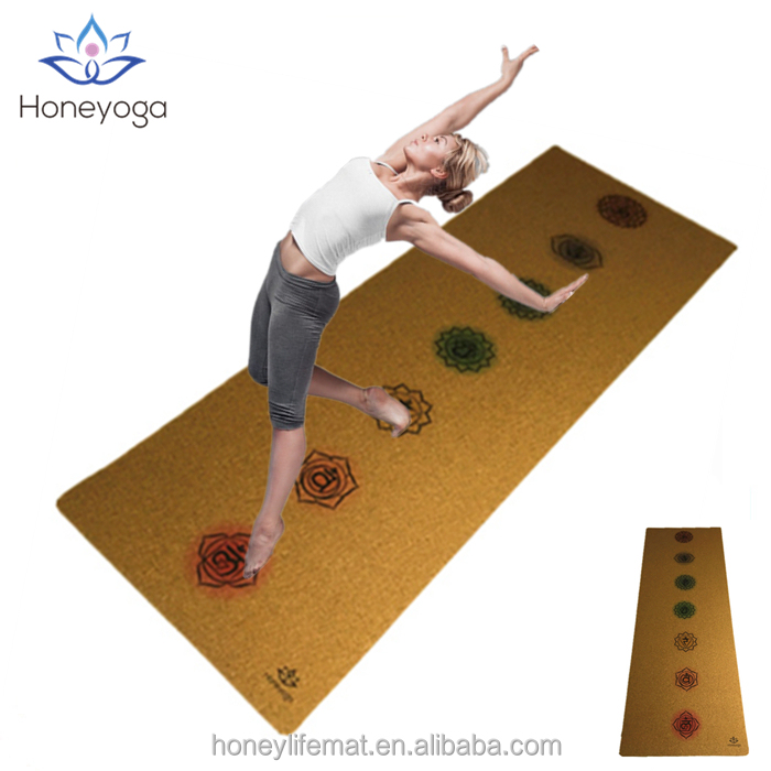 New Arrival Chakra Print 5mm Thick Good Cushion Yoga Mat Factory Price