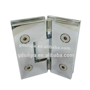 Construction material brass spring hydraulic bathroom glass door hinge 2012
