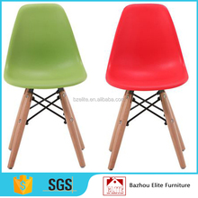 Comfortable colorful small children plastic chair