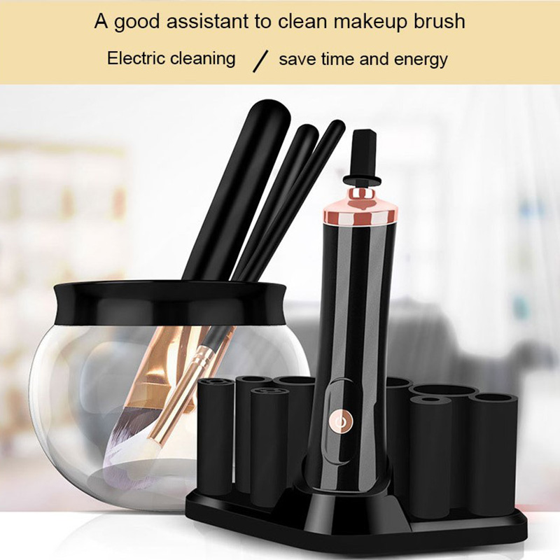 New Arrival Automatic Private Label Electric Makeup Brush Cleaner For Home Use