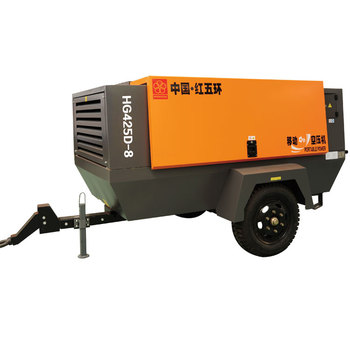 Medium 55kw Direct Drive 10 Screw Type 10hp 14.5 Bar Portable Mobile 8bar Electric Air Compressed Compressor