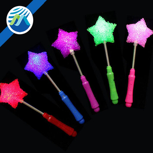 Wholesale Flashing Concert Glow Stick Pentagram, Rose, Love Heart LED Rave Baton Party Favor Wand