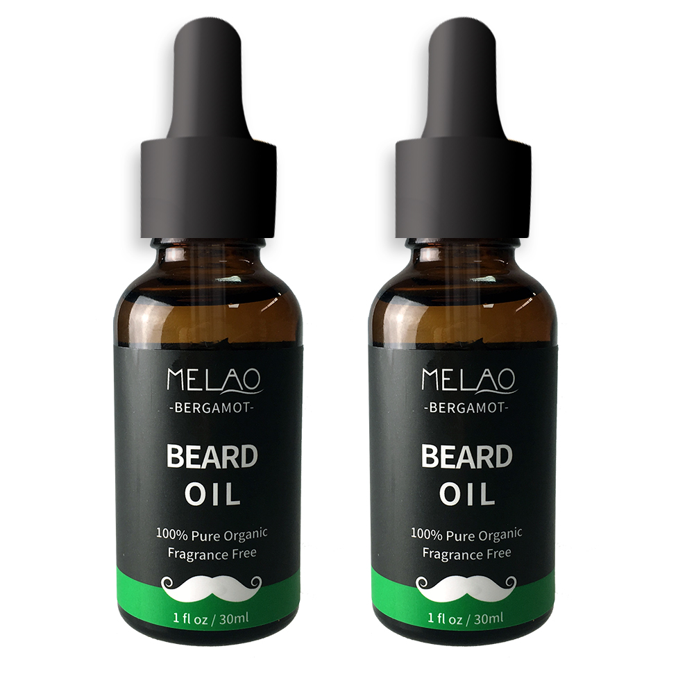 100% Pure Natural Organic Mens Beard Growth Moisturizer Smoothing Care Beard Oil