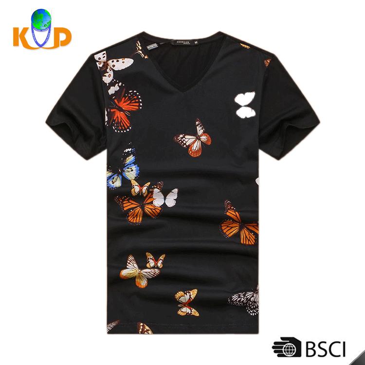China supplier OEM design cotton/ polyester 200G M-XXL man printed cotton t-shirt