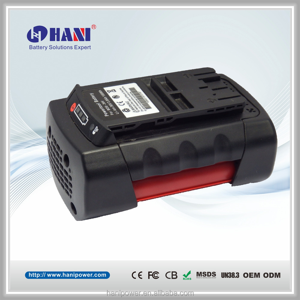 Bosch cordless drill battery 36v 3000mAh Li-ion Professional power tools battery