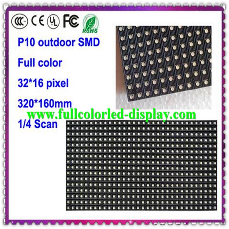 P10 outdoor matrix 32*16 P6.67 outdoor RGB LED led dot matrix prikbord