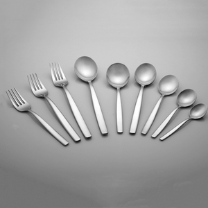 Hot Selling Products Stainless Steel Ice Cream Spoon Fork Set in USA