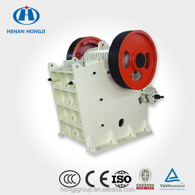 China Top Brand Hongji Factory Price Stone Crushing Jaw Crusher Machine