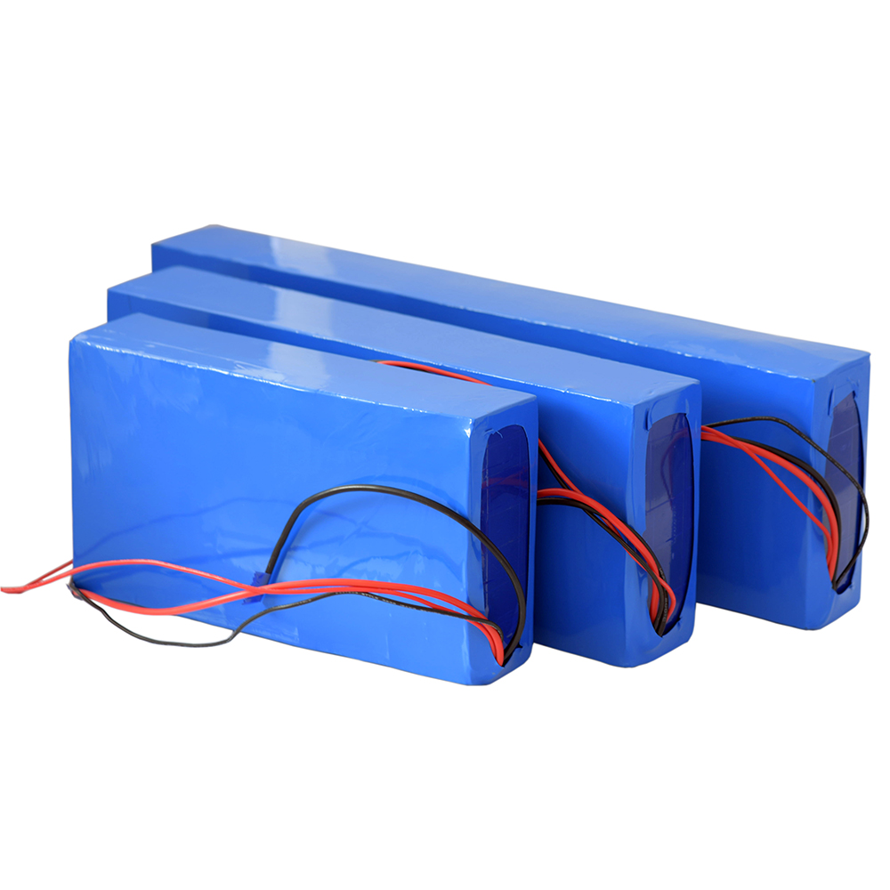High energy density rechargeable lithium ion battery pack 36V 30Ah for Electric bike