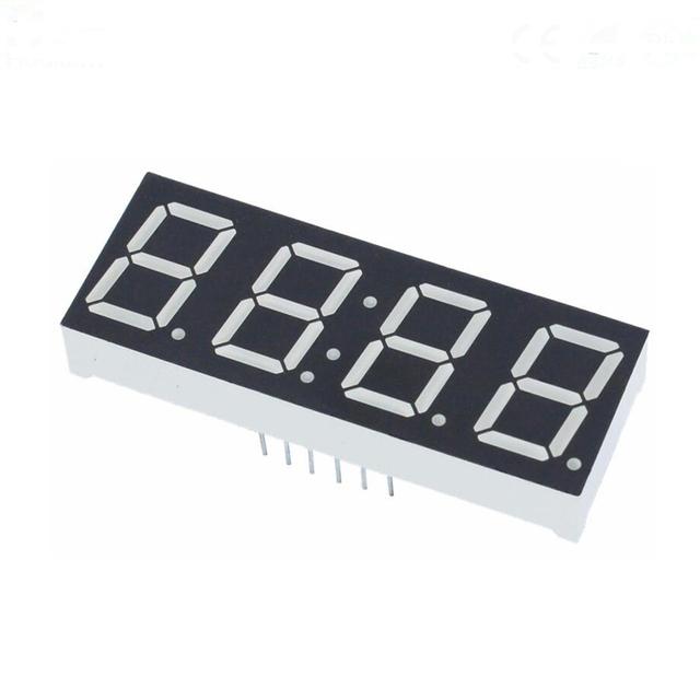 "LED 14,22mm 7-segmentig 0,56/"" Anz.Z Display 3 rot  0,8÷2,4mcd LTM-8522HR Dreif"