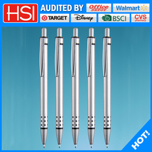 Low-cost advertising business gifts aluminum ball pen for promotion