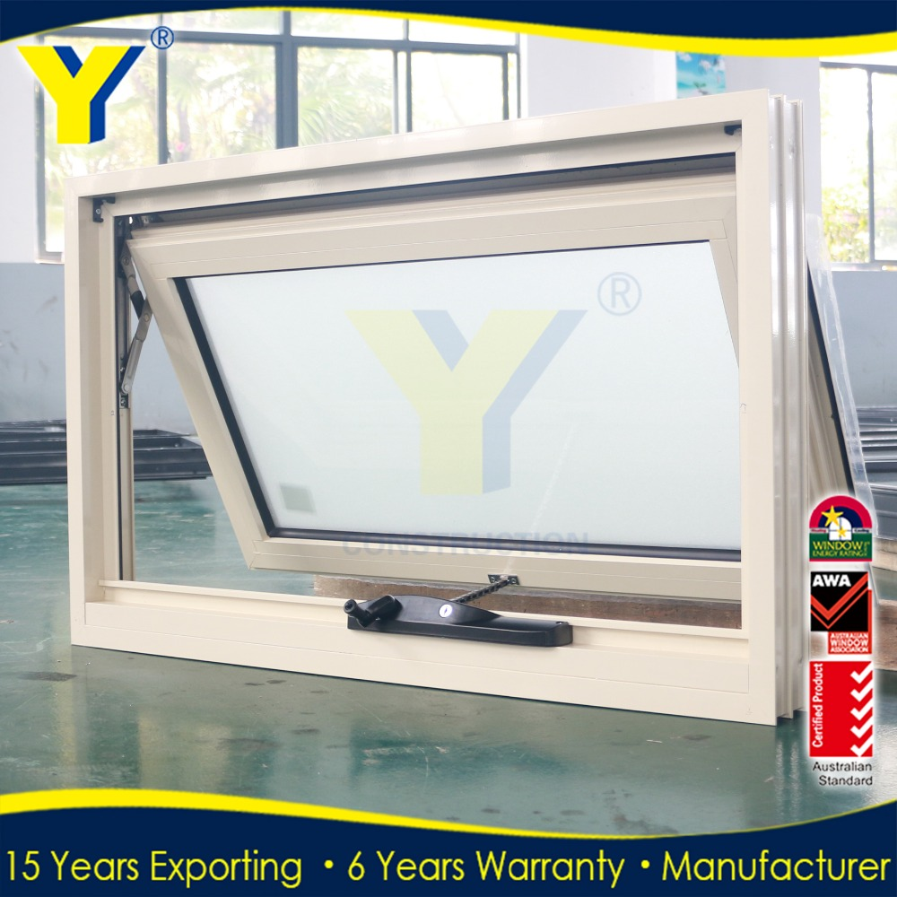 Double glazing aluminum electric house windows