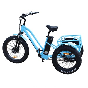 adult big wheel tricycle/electric tricycle bicycle adult Trike/motorized cargo tricycle