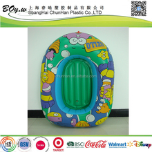 2016 popular factory pool floating toys pvc children mini inflatable boat